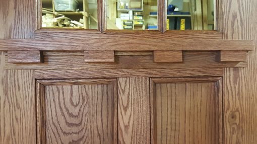 Exterior Quarter Sawn Oak Door Unit