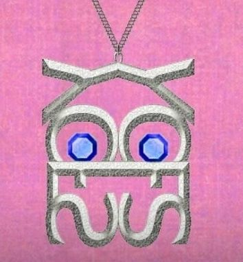 Custom Made Owl Pendant