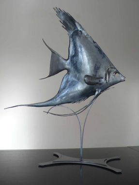 Custom Made Sculpture Angel Fish