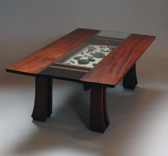 Custom Made Rocky-Top Coffee Table