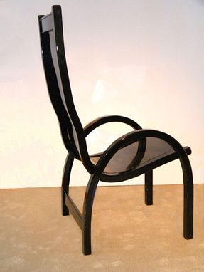 Custom Made Joki Chair Model A: Wood/Carbon Composite