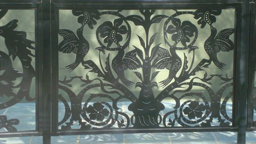 Custom Made Patio Fence Panel On Sale Decorative Discount Metal Italian Garden Gate Iron