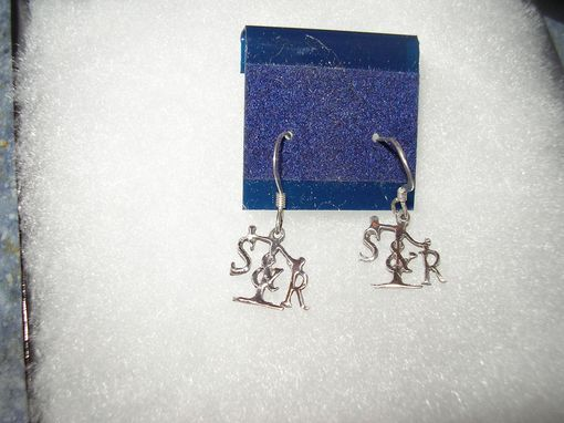 Custom Made S&R Earrings.