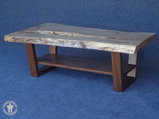 Custom Made Live Edge Slab Coffee Tables