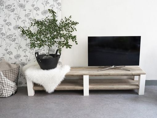 "Custom Made Custom Made Pinewood Tv Stand ""Sherbrooke"""