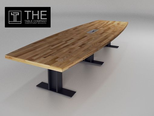 Custom Made Marble Conference Table