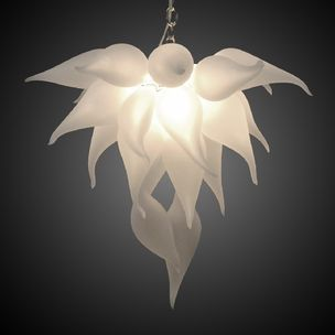 seth parks inspirational lighting designs. Bella Fiore Hand Blown Glass Chandelier By Seth Parks Inspirational Lighting Designs