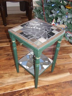 Custom Made Mosaic Accent Table