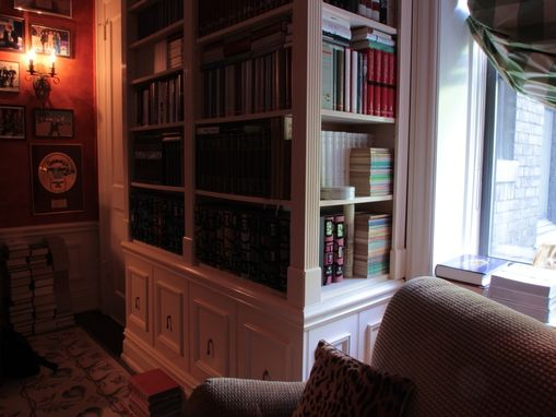 Custom Made Park Ave.  Federalist Built In Library Bookcase
