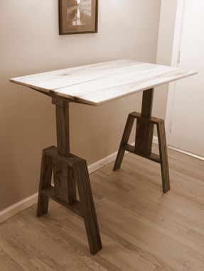 Custom Made Adjustable Standing Desk