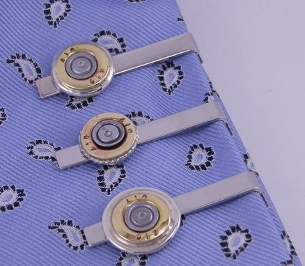 Custom Made Tie Clip Bullet Shells Custom Made