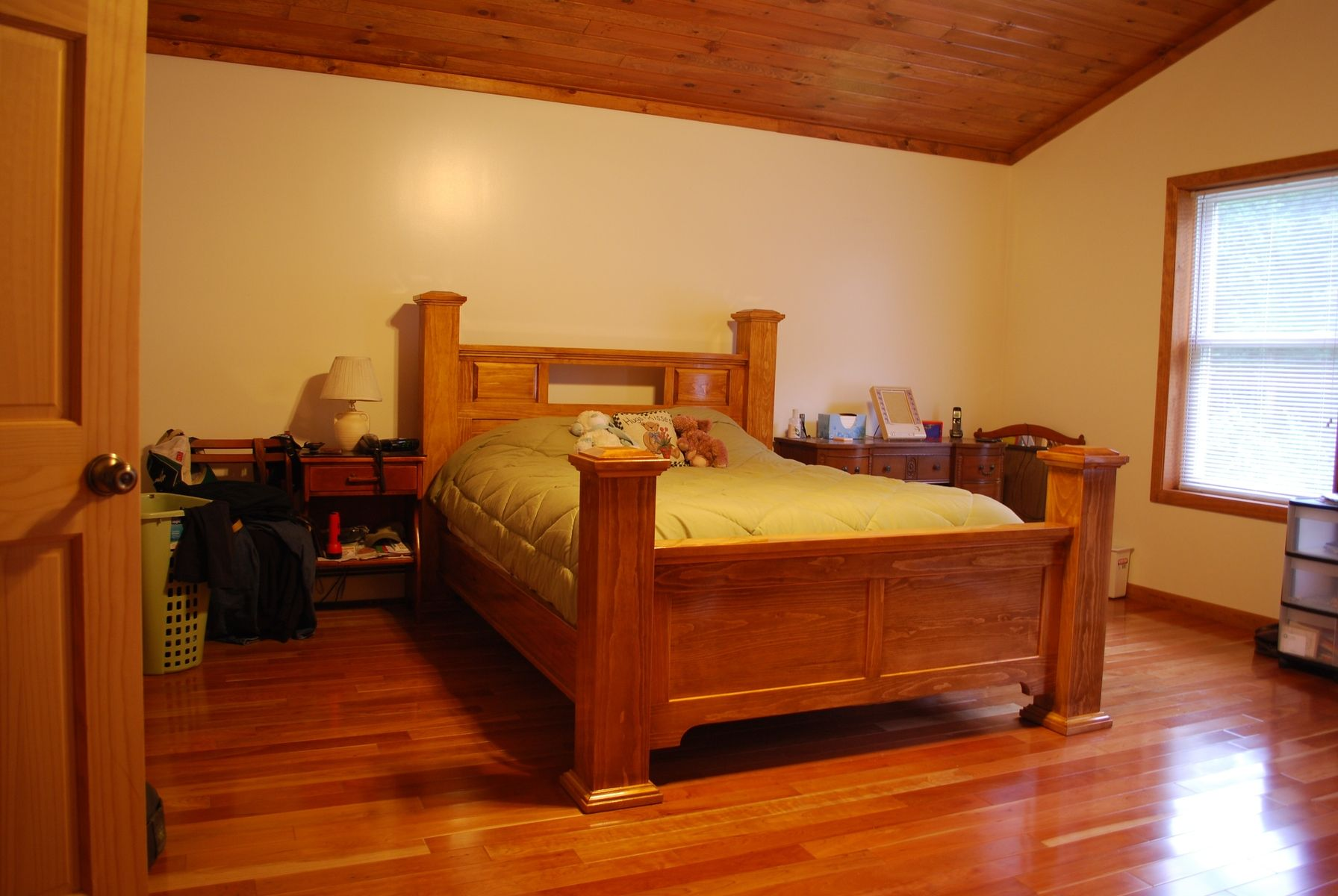 Handmade Four Post Bed By Larue Woodworking Custommade Com