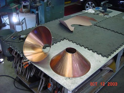 Custom Made Custom Copper Sink  - Jon Koehler