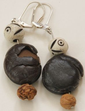 Custom Made Big Seed Earrings