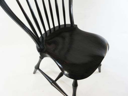 Custom Made Balloon Back Windsor Chair Side Chair Accent Chair