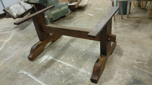 Custom Made Ogee Trestle Table Base