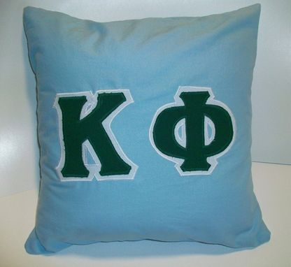 Custom Made Greek Letter Pillow