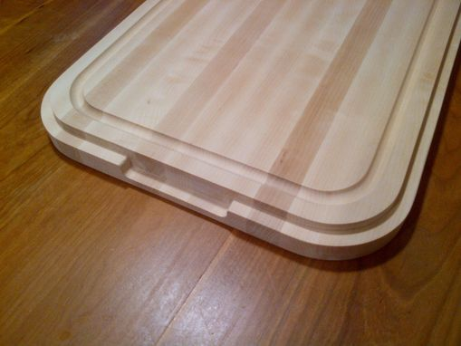 Custom Made Drop-In Sink Hard Maple Cutting Board