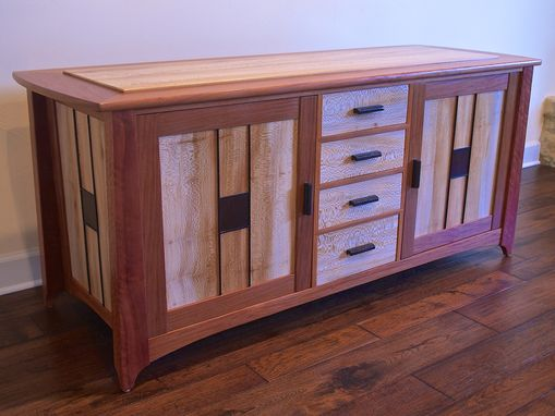 Custom Made Contemporary Entertainment Cabinet/Buffet