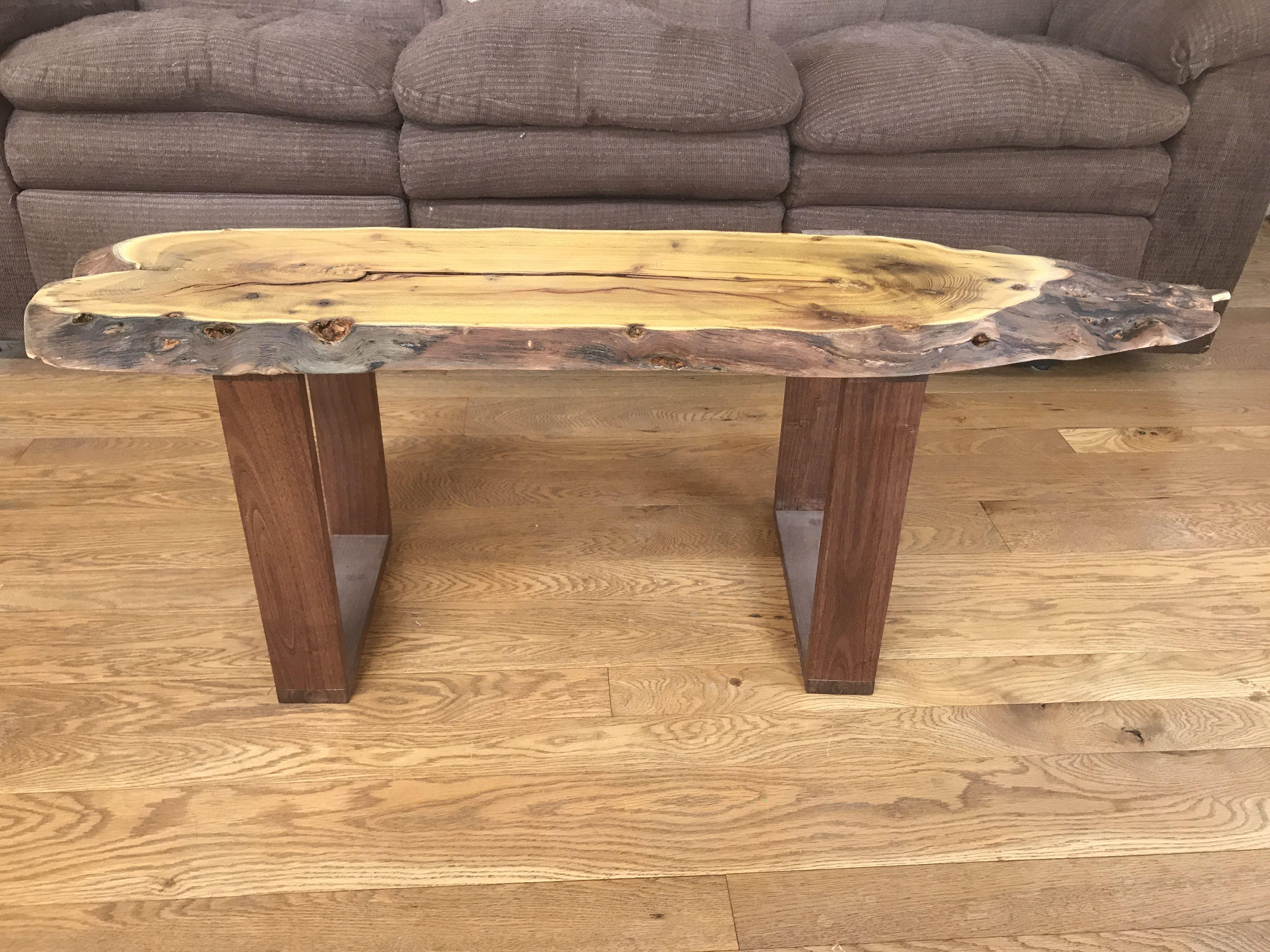 Custom Live Edge Osage Coffee Table By Martin Rustics Custommade Com