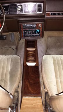 Custom Made Oldsmobile Cutlass Console