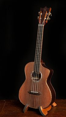 Custom Made Wenge Low G Tenor Ukulele