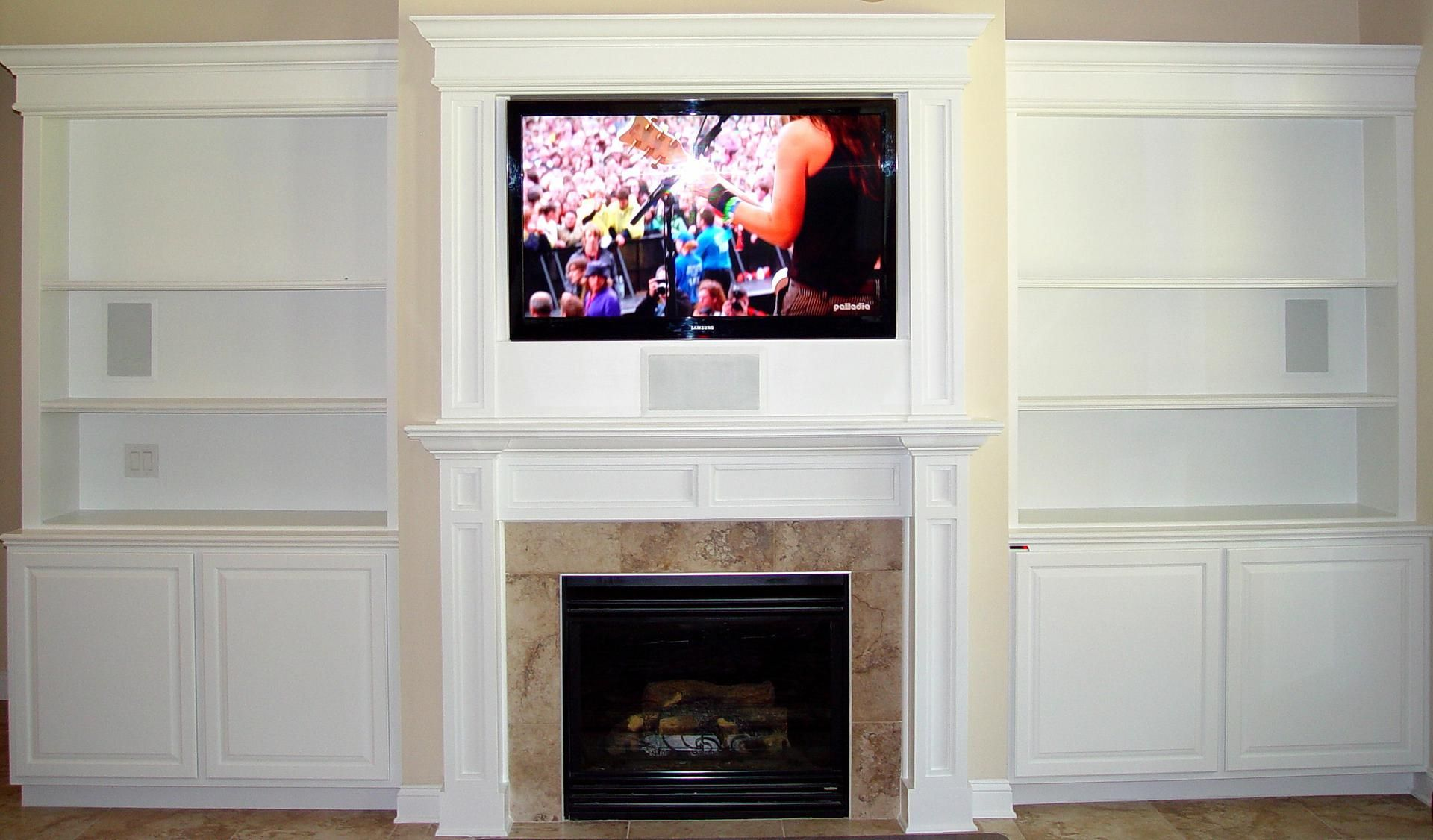 handmade custom entertainment center by dk kustoms inc