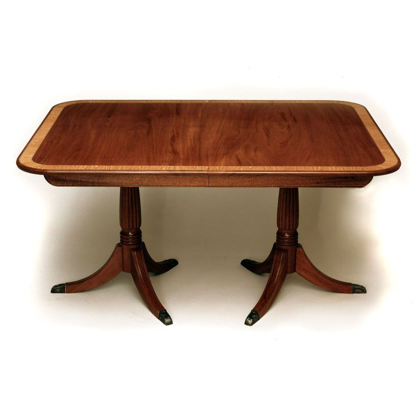 Quality Furniture Makers: Custom Made Federal Expanding Dining Table By Museum