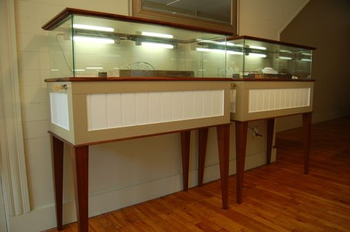 Custom Made Jewelry Display Cases
