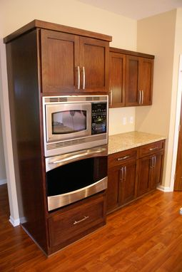 Custom Made Stained Poplar Kitchen