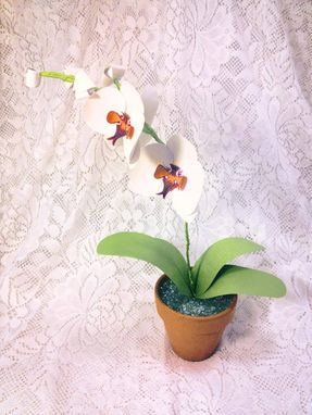 Custom Made Custom Paper Orchid Plant