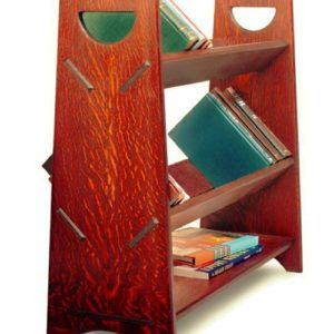 Custom Made Gustav Stickley Inspired Book Rack