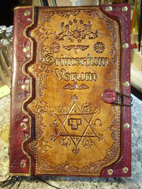 Custom Made Hand Made Leather Edition Of The Grimorium Verum