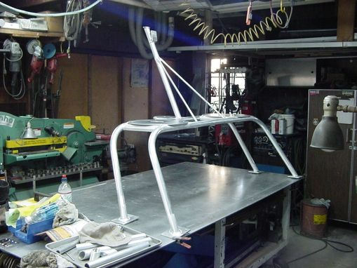 Custom Made Stainless Steel Custom Yacht Railing - Marine Fabrication - Jon Koehler