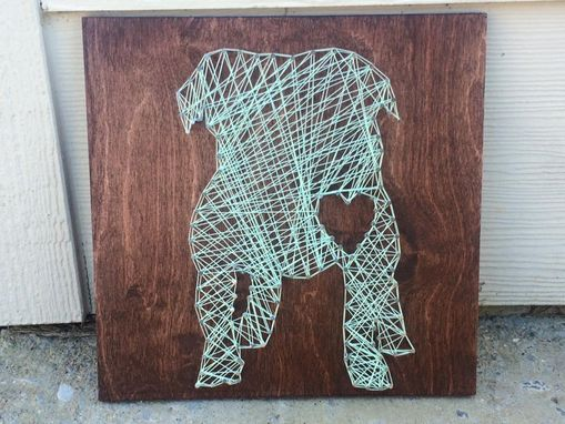 Custom Made Bulldog String Art