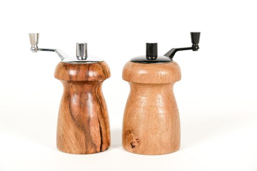 Custom Made Bordeaux - Grapevine Salt And Pepper Grinders