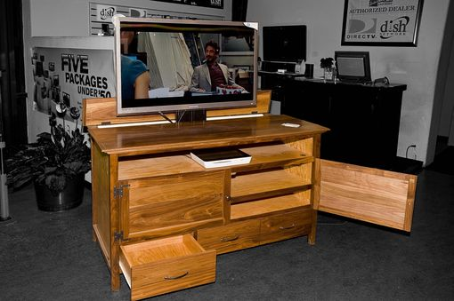 Custom Made Flat Screen Tv Cabinet