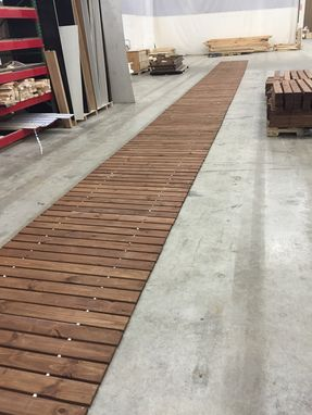 Custom Made Wooden Boardwalk 4' Sections
