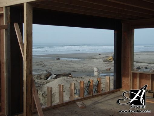 Custom Made Rock Away Beach Oregon Structural Steel