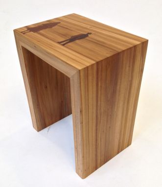 Custom Made Big Combo Side Table