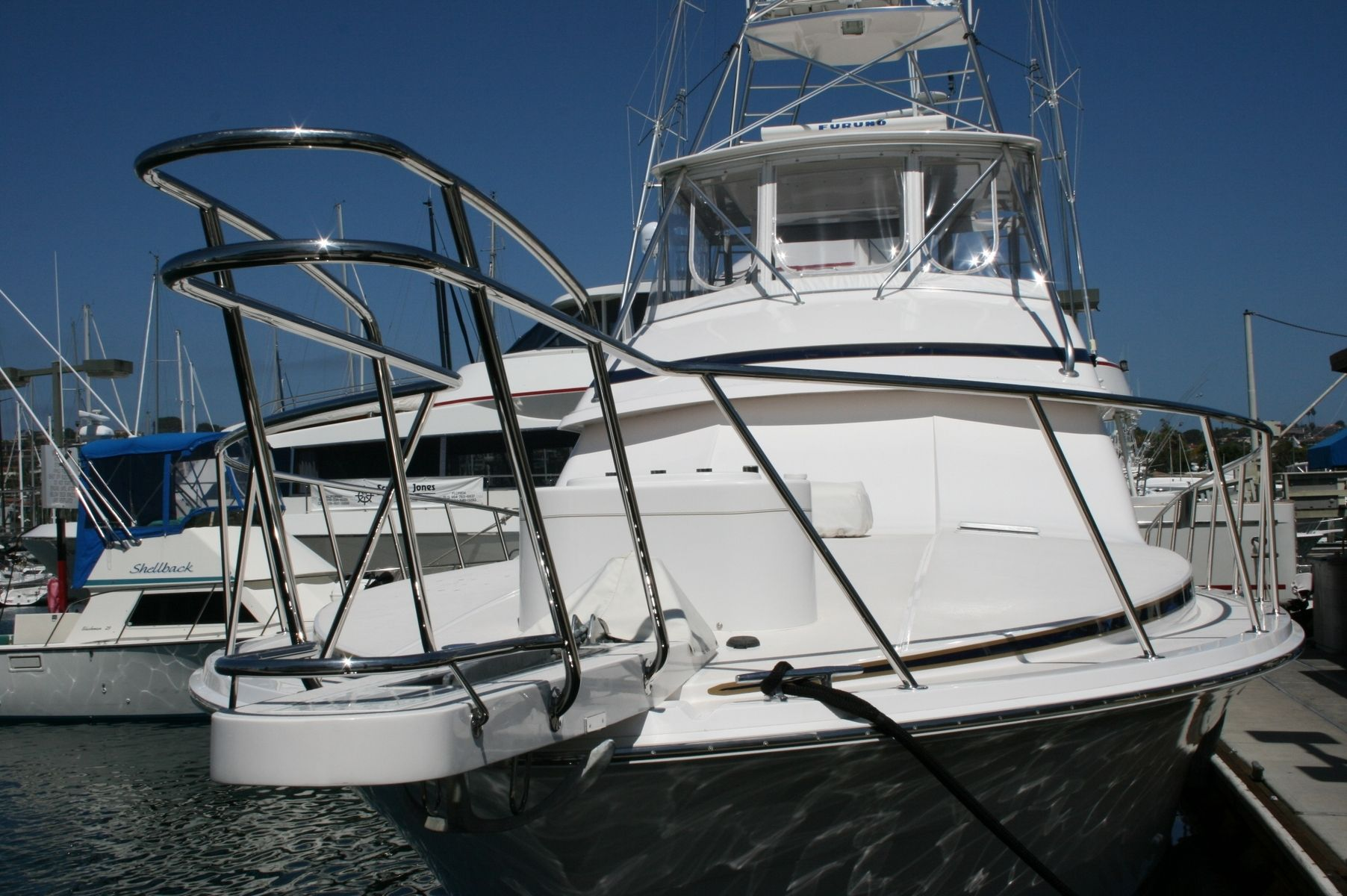 Hand Crafted Stainless Steel Yacht Railing Custom Fitting