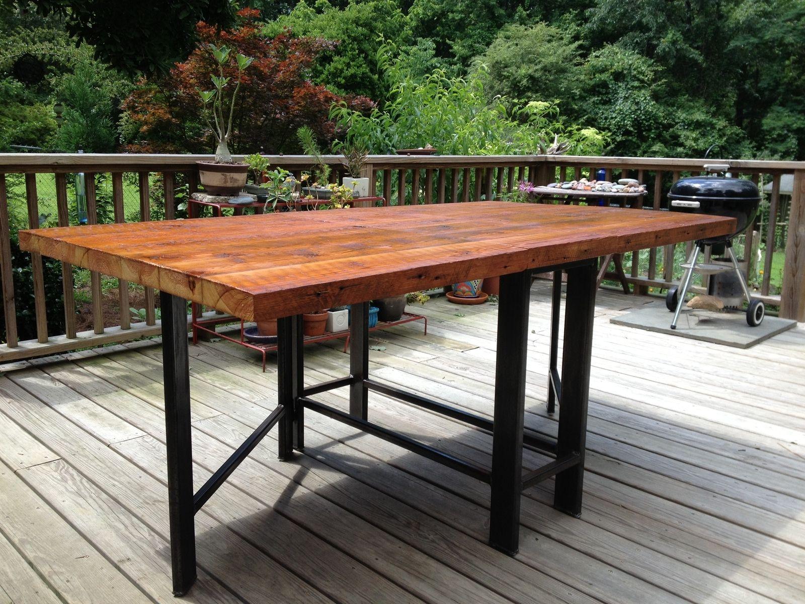 Handmade Gateleg Table by Five Fork Studio