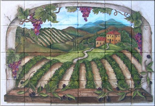 Custom Made Vineyard Murals