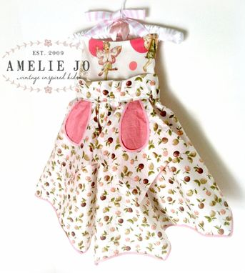 Custom Made Custom Vintage Apron Dress