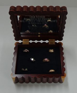 Custom Made Ring Box