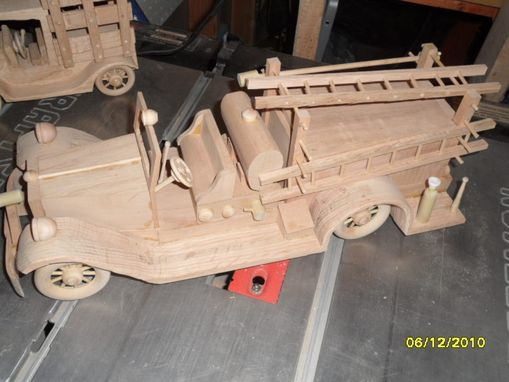 Custom Made Antique Fire Engine