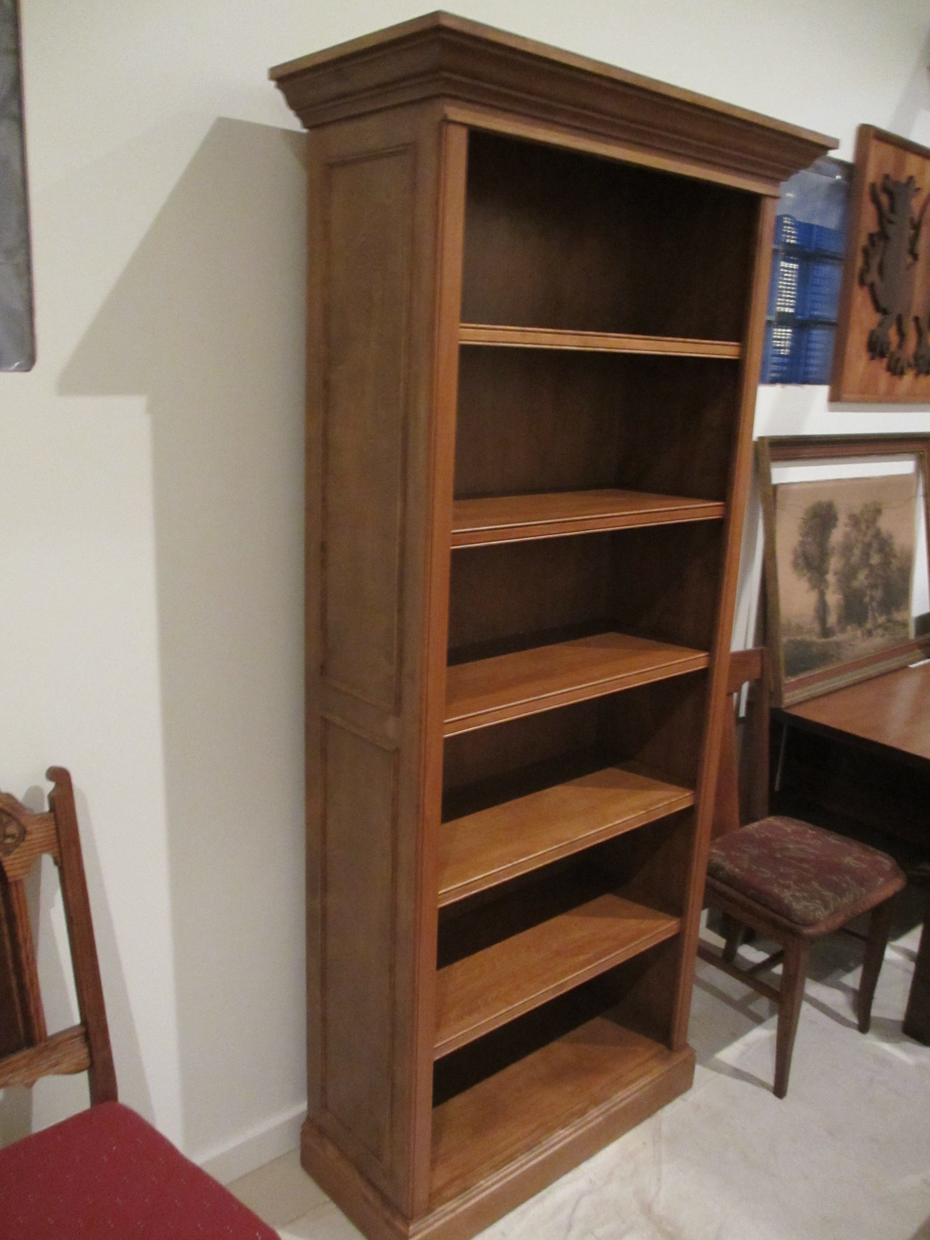 Buy A Custom Traditional Birch Bookcase Made To Order From Artisan Furniture Mke Custommade Com