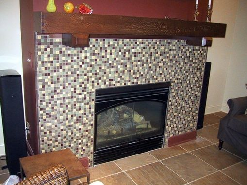 Custom Made Arts And Crafts Fireplace Mantel