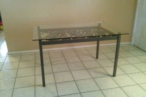 Custom Made Chain Dining Table
