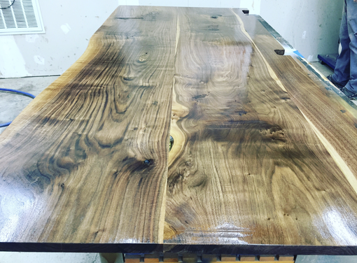 Custom Made Walnut Table Top - Customize Your Size!